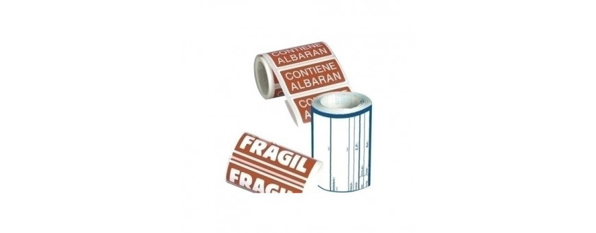 Etiquetas de envío