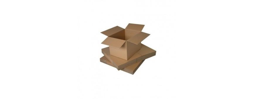 Cajas de embalar de cartón sencillo