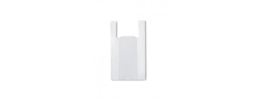 Bolsas plásticas blancas