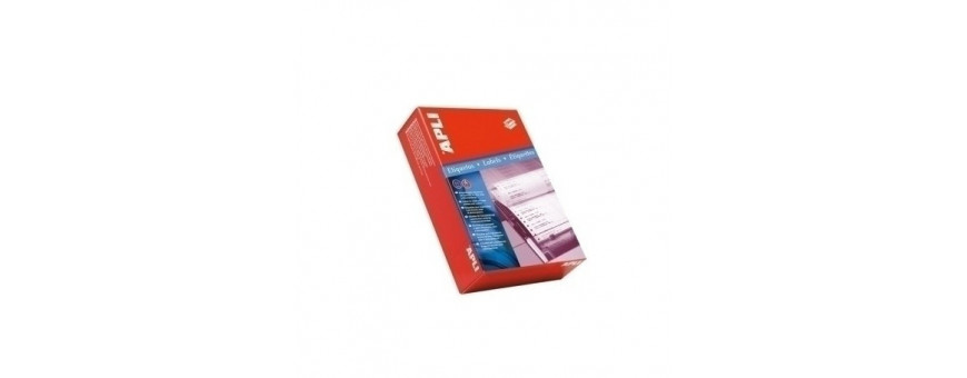 Etiquetas adhv. para impresora continuo