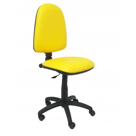 04CPSPV26 Silla Ayna similpiel amarillo